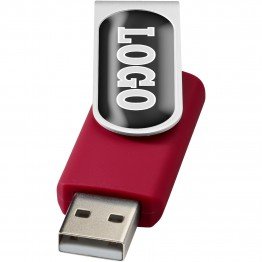 Rotate-doming USB flash drive