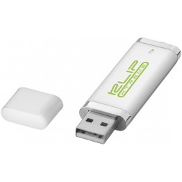 Flat 2GB USB flash drive